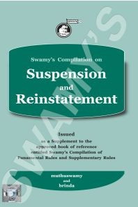 Swamys Compilation on Suspension and Reinstatement