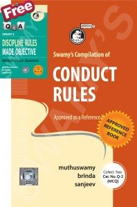 Swamys Compilation of CCS Conduct Rules with Free MCQ - 2017