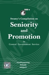 Swamy's Compilation on Seniority and Promotion in Central Government Service