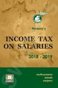 Swamys Income Tax on Salaries 2018-19 - 2018