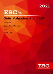 Suits Valuation Act, 1887[Amended up to Adaptation of Laws (No. 2) Order, 1956 and as of 24-12- 2020]  Bare Act (Print/eBook)