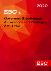 Governors (Emoluments, Allowances and Privileges) Act, 1982