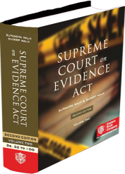 Supreme court on Evidence Act (1950 to 2012)( in 2 volumes)