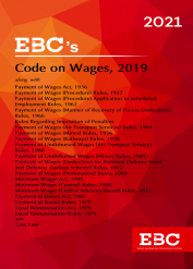 Code on Wages Act, 2019[Amended as of 4-1-2021]Bare Act (Print/eBook)
