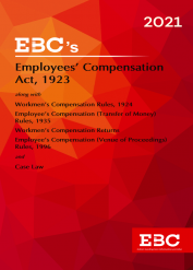 Employees Compensation Act, 1923[Amended up to Act 11 of 2017 and as of 7-1-2021]Bare Act (Print/eBook)
