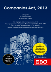 Companies Act, 2013 (Large)Bare Act (Print/eBook)