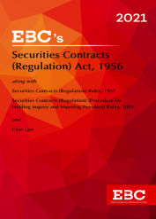 Securities Contracts (Regulations) Act, 1956[Amended up to Act 50 of 2019 and as of 9-10-2020]Bare Act (Print/eBook)
