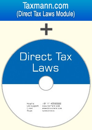 Direct Tax Laws on DVD plus Income-tax Web Module