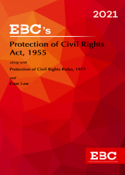 Protection of Civil Rights Act, 1955[Amended upto Act 106 of 1976 and as of 30-10-2020]-- CPC, Civil Procedure Code-Bare Act (Print/eBook)