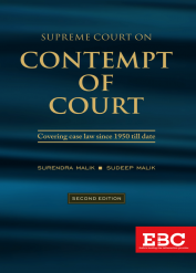 Supreme Court on Contempt of Court (1950 to 2019)