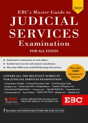 EBC's Master Guide to Judicial Services Examination
