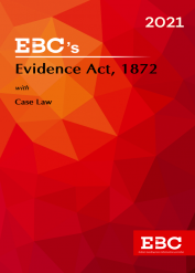 Evidence Act, 1872 [Amended up to Act 34 of 2019 and as of 31-10-2020]Bare Act  - Evidence Act(Print/eBook)