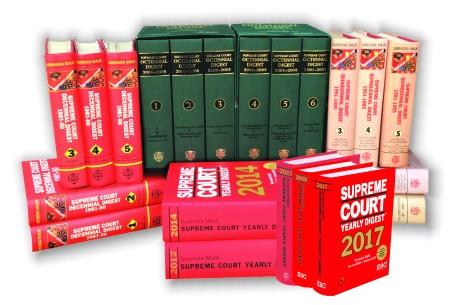 38 years' Digests (1981-2018) [in 31 volumes]