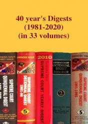 40 years' Digests (1981-2020) [in 33 volumes]
