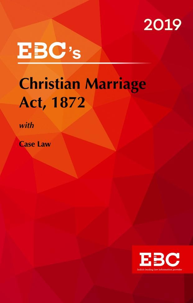 Christian Marriage Act, 1872