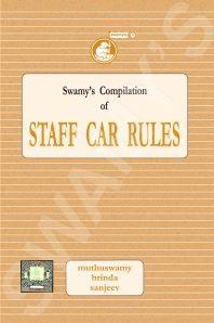 STAFF CAR RULES - 2019