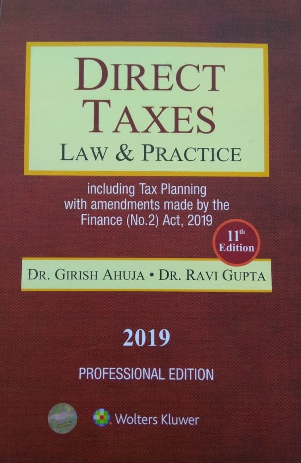 Direct Taxes - Law and Practice