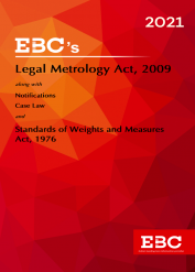Legal Metrology Act, 2009[Amended as of 26-11-2020]Bare Act (Print/eBook)