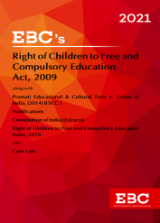 Right of Children to Free and Compulsory Education Act, 2009Bare Act (Print/eBook)
