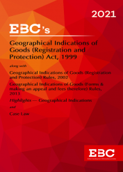 Geographical Indications of Goods (Registration and Protection) Act 1999Bare Act