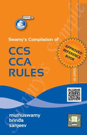 Swamy's Compilation of CCS CCA Rules - 2021