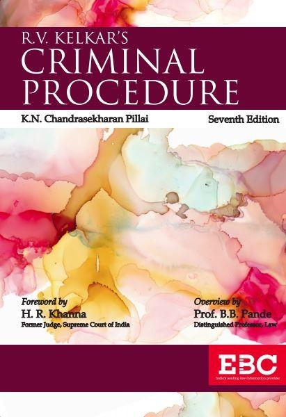 R.V. Kelkar's Criminal Procedure