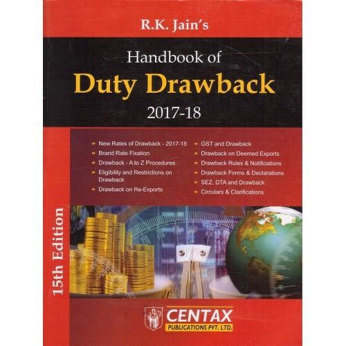 Handbook of Duty Drawback 2017-18