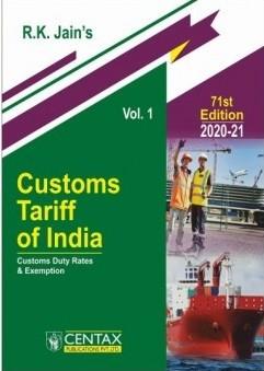 Customs Tariff of India - Volume 1 and Volume 2