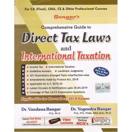 Comprehensive Guide to Direct Tax Laws and International Taxation