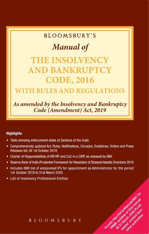 Bloomsburys Manual of the Insolvency and Bankruptcy Code, 2016 with Rules and Regulations