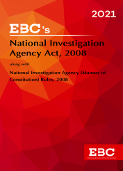 National Investigation Agency Act 2008[Amended up to Act 16 of 2019 and as of 5-12-2020]Bare Act (Print/eBook)