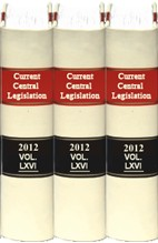 Current Central Legislation (Back Volumes)- CCL Bound Volumes