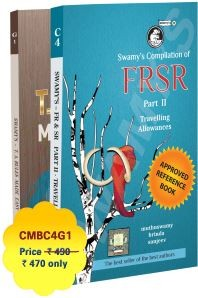 Swamy's Compilation of FRSR PART - II & TA RULES MADE EASY - 2019