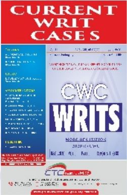 Current Writ Cases - Fortnightly (In 2 Volumes)