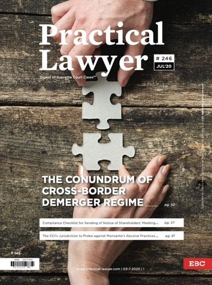 Practical Lawyer The Conundrum of Cross Border Demerger Regime