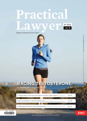 Practical Lawyer Racing Testosterone A Hormone or a Harness