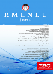 RMLNLU Law Journal