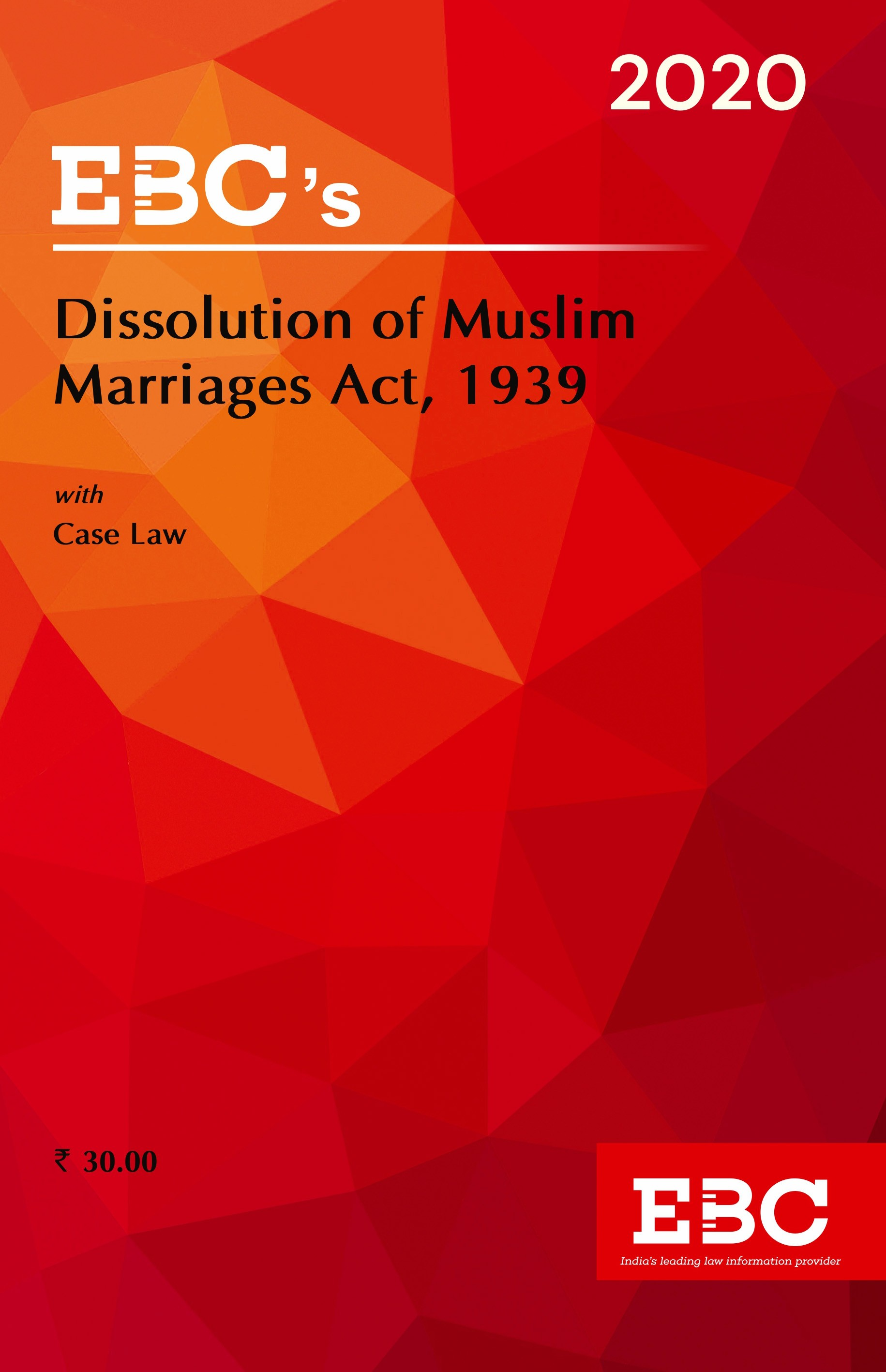 Dissolution of Muslim Marriages Act, 1939