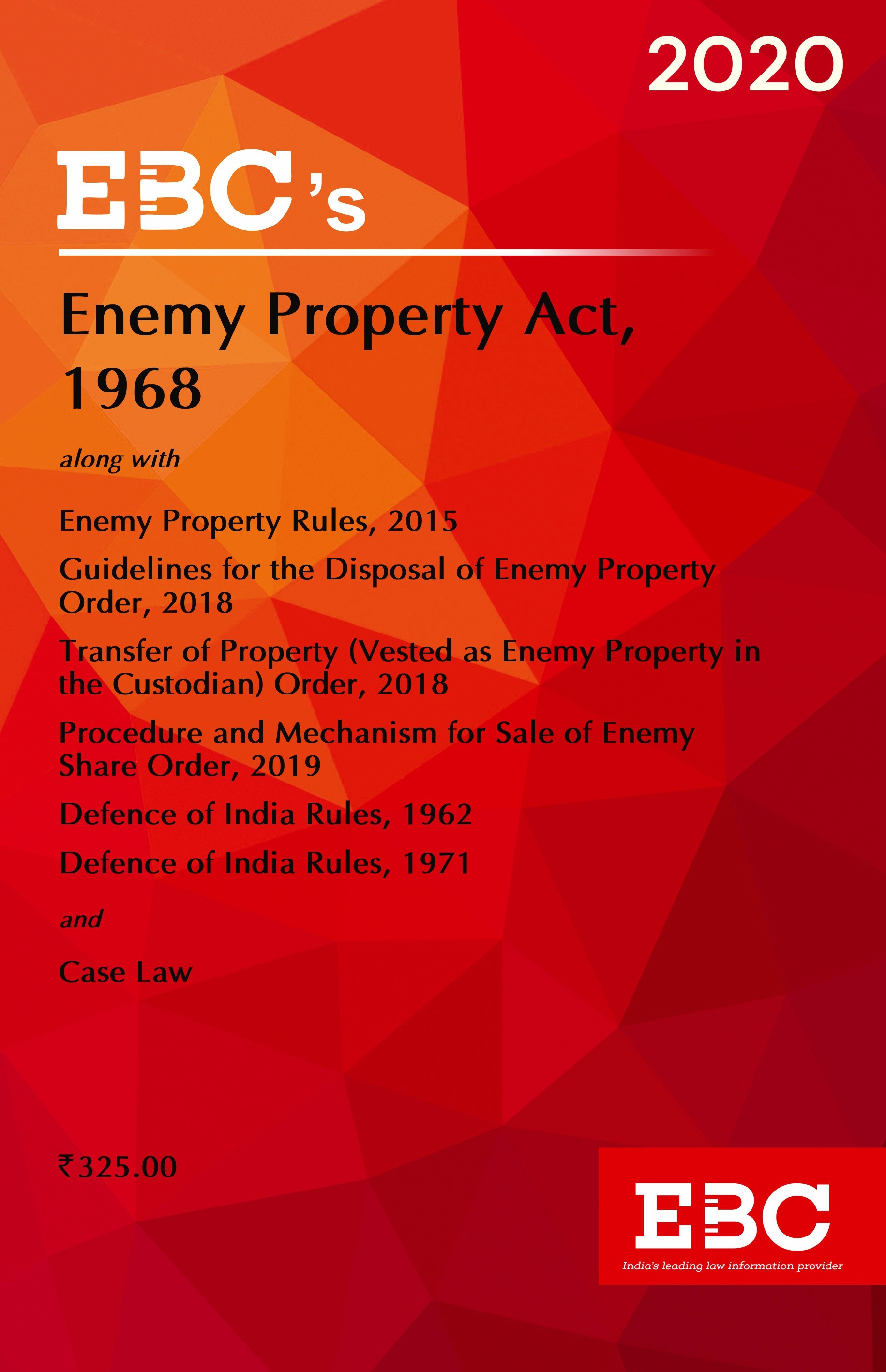 Enemy Property Act, 1968