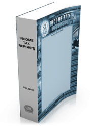 Income Tax Reports (ITR) Paperbound