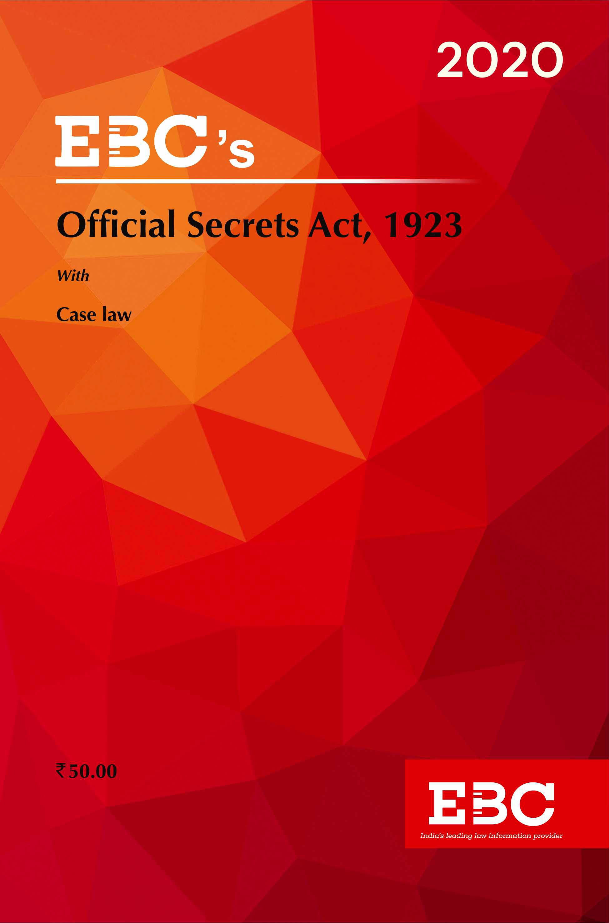 Official Secrets Act, 1923