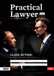 Practical Lawyer: Class Action- An Obstacle Race for the Minority