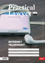 Practical Lawyer - Internet Telephony