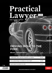 Practical Lawyer - Driving India To The Fore Electric Transportation