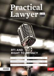 Practical Lawyer RTI and Right to Privacy