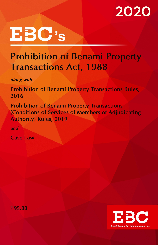 Prohibition of Benami Property Transactions Act, 1988