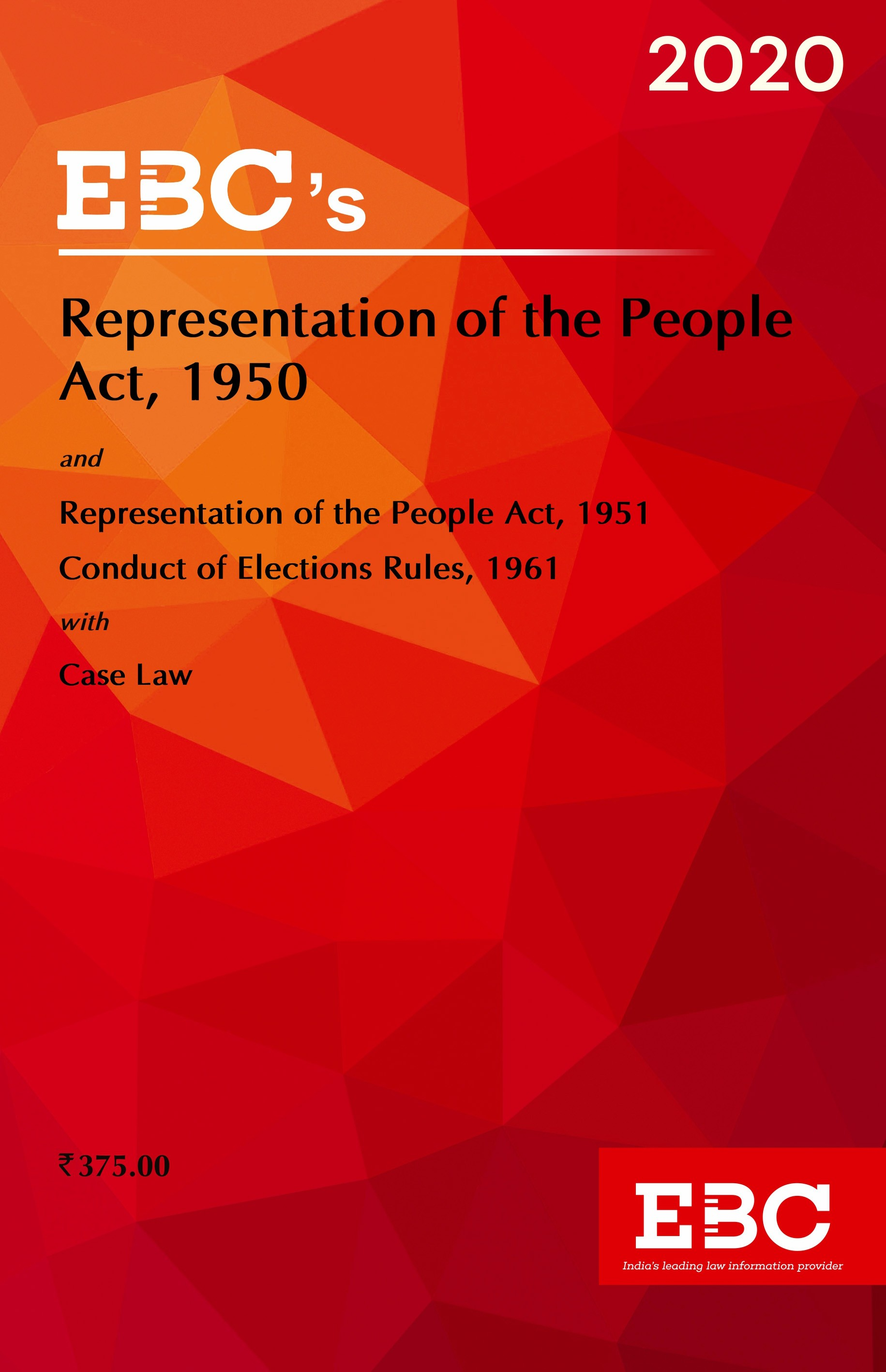 Representation of the People Act, 1950