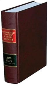 Supreme Court CasesTM (Civil) [Back Volumes] - SCC(Civ) Bound Volumes
