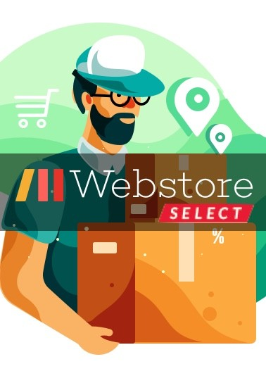 Webstore SELECT  Unlimited FREE fast delivery*