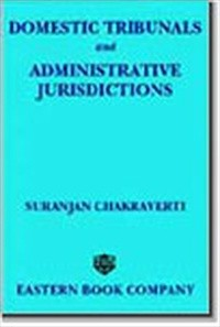 Domestic Tribunals and Administrative Jurisdictions (e-book/Hardbound)